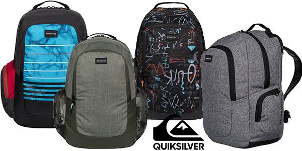 Quiksilver Schoolie mochila gran capacidad portátil acolchada barata