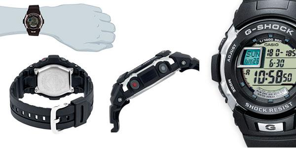 Reloj Casio G-Shock deportivo G-7700 1ER para hombre barato en Amazon