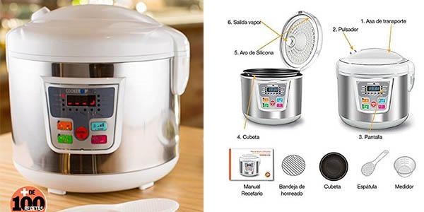 robot cocina Cookeomatic programable barato