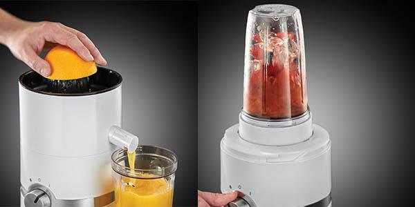 Russell Hobbs 3 en 1 ultimate juicer zumos smoothies relación calidad precio brutal