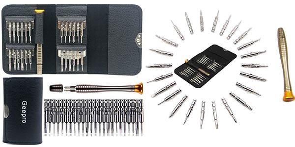 set herramientas precisión Geepro 25 en 1 barato