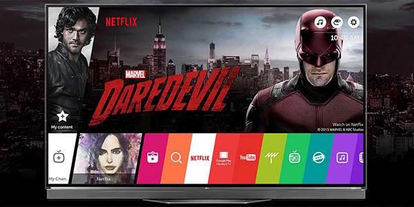 Smart TV LG OLED65E6V UHD 4K 3D webOS 3.0