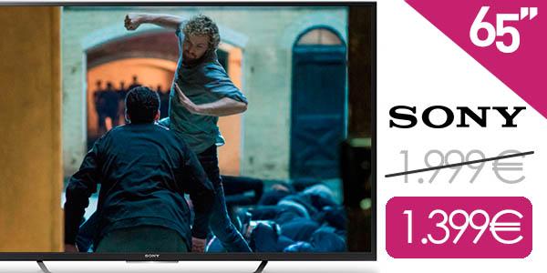 Smart TV Sony KD-65XD7505 UHD 4K de 65''