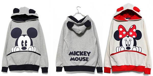 sudaderas Mickey y Minnie Mouse baratas