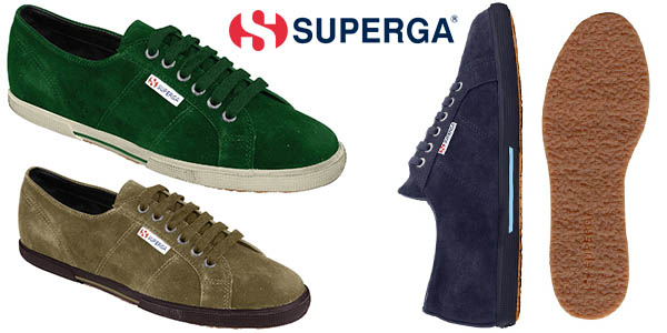 Superga 2950 sueu zapatillas mujer casual aterciopeladas baratas