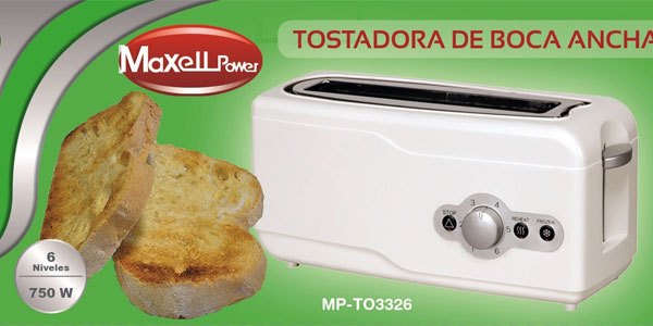 Tostadora de boca ancha Maxell Power barata en eBay