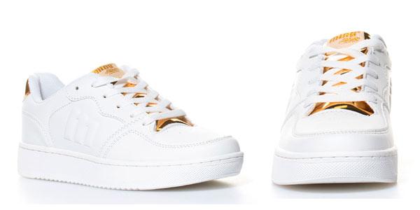 Zapatillas deportivas mustang color blanco para mujer baratas en eBay