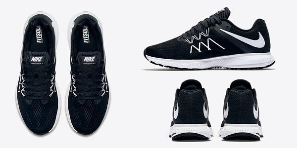Zapatillas de runnning Nike para hombre Zoom WinFlo 3 con cupón de descuento