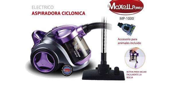 Aspiradora ciclónica sin bolsa Maxell Power barata en eBay