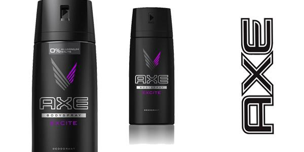 ack 3 desodorantes de Axe Excite baratos en Amazon