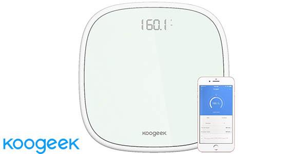 Báscula digital bluetooth Koogeek