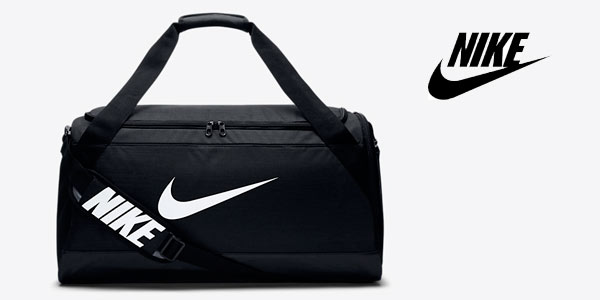 Bolsa de deporte Nike Brasilia mediana rebajada en la web de NIKE con cupón de descuento