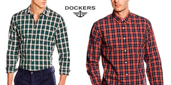Camisa Dockers Laundered Poplin rebajada al mejor precio en Amazon