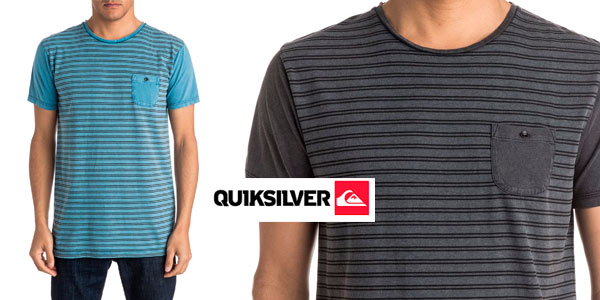 Camiseta Quiksilver Acid Striped rebajada en store de eBay