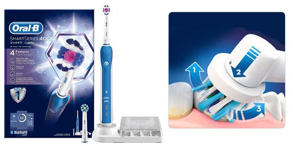 Cepillo eléctrico Oral-B Smart Series 4000 3D White rebajado en Amazon