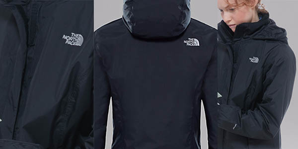 chaqueta ligera the north face resolve impermeable