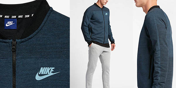 chaqueta versátil transpirable nike sportswear advance15 chollo