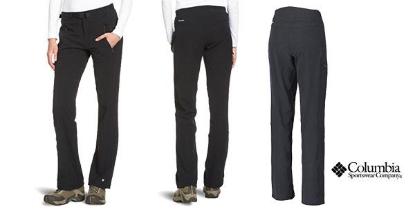 Pantalones de senderismo Columbia Maxtrail baratos con cupón de descuento Shopmoda en Amazon