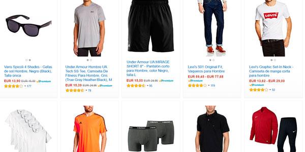 Descuentos en Amazon Moda para hombre con código de descuento SHOPMODA