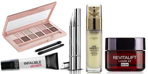 descuentos productos belleza personal L'Oréal Maybelline Garnier