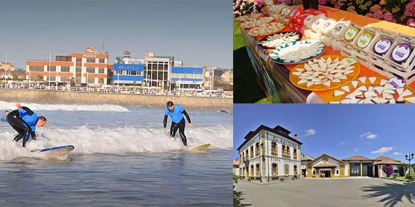escapada Asturias surf sidrería quesería abril 2017