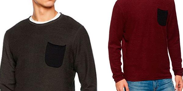 Suéter fino de manga larga Jack & Jones al mejor precio en Amazon