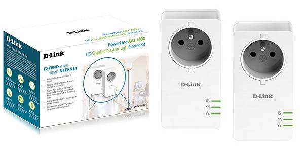 Kit adaptadores PLC D-Link PowerLine AV2 1000