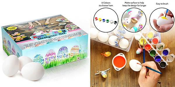 kit huevos de pascua para pintar barato