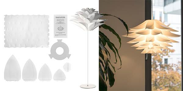 lámpara kwmobile DIT piezas forma loto barata