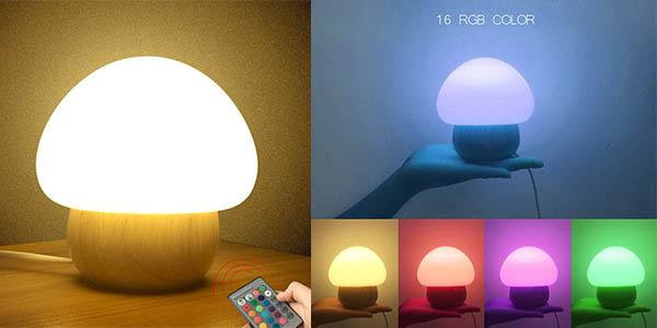 lámpara mesita LED diseño original barata