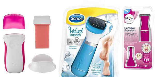lima electrónica kits depilación corporal baratos Amazon regalos para el Día de la Madre 2017