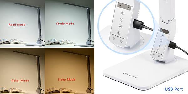 luminaria escritorio diseño moderno plano iluminación trabajo estudio