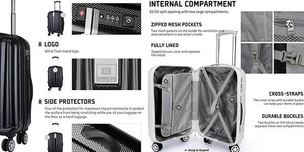 maleta mano medidas aceptadas gran relación calidad-precio