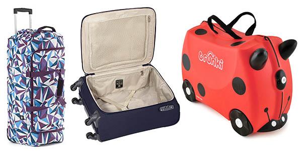 maletas trolleys bolsas mano grandes descuentos