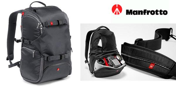 Mochila de fotografía Manfrotto Travel Backpack al mejor precio en Amazon