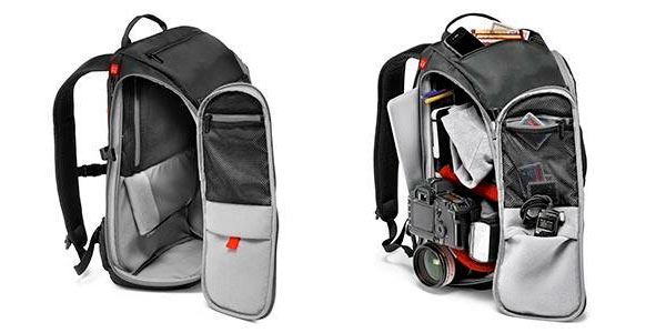 Mochila de fotografía Manfrotto Advance Bag Travel Backpack rebajada en Amazon