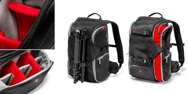 Mochila de transporte para cámara DSLR Manfrotto Travel Backpack