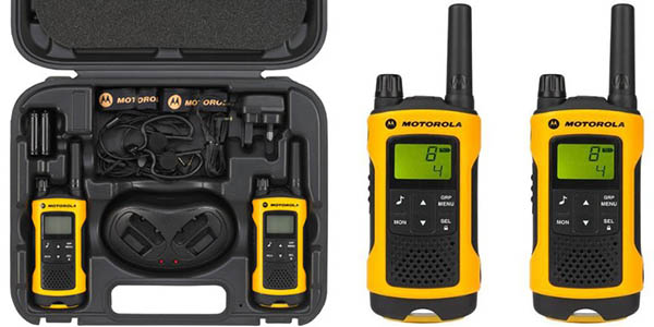 motorola TLKR T80 extreme walkie-talkies oferta flash amazon