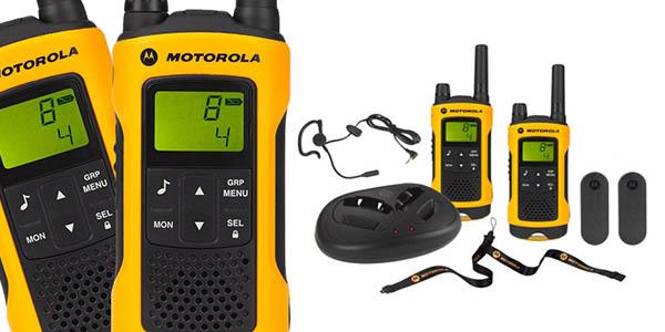 motorola TLKR T80 extreme walkie-talkies gran relación calidad-precio