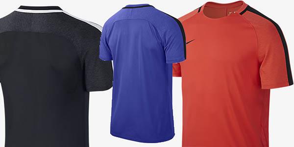 nike dry squad camiseta entrenamiento hombre cupón descuento EXTRA20