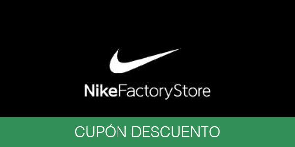 espalda Panadería fenómeno  Bestial cupón descuento Nike Factory Store del 30%