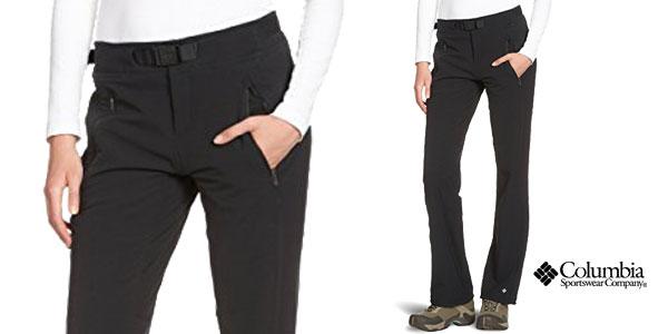 Pantalones de senderismo para mujer Columbia Maxtrail baratos con cupón de descuento Shopmoda en Amazon
