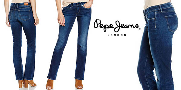 pepe jeans picadilly tejanos mujer baratos