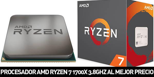 Procesador AMD RYZEN 7 1700X 3.8GHZ