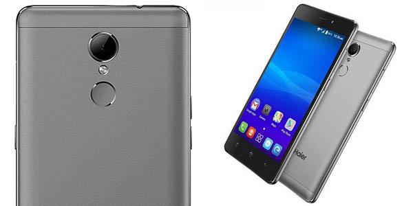 Smartphone Haier L55s en color gris