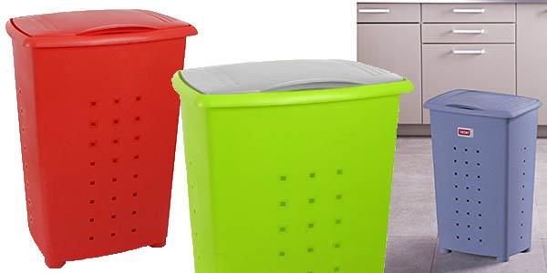 tatay cubo plástico 60 litros almacenaje ropa chollo
