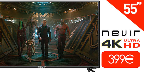 TV LED Nevir NVR-7604 Ultra HD 4K