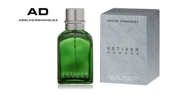 vaporizador Vetiver de 120 ml de Adolfo Dominguez barato en Amazon España