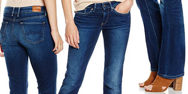 vaqueros mujer pepe jeans picadilly