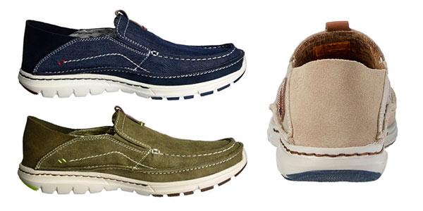 Zapatos de lona sin cordones para hombre Dockers By Gerli rebajados en Amazon
